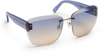 Henri Bendel Rachel Square Sunglasses