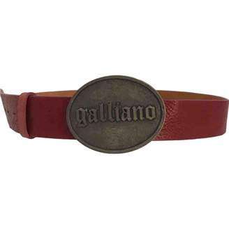 Galliano Other Leather Belts