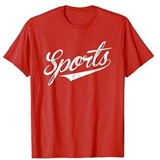 The word Sports t-shirt | A shirt that says Sports