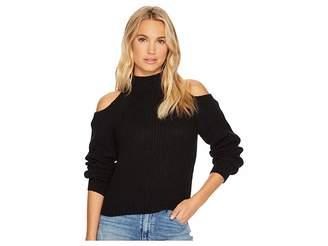 BB Dakota Mai Cold-Shoulder Turtleneck Sweater Women's Sweater