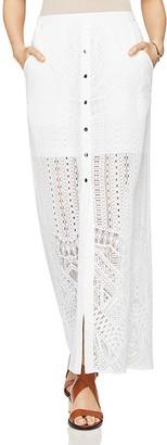 BCBGMAXAZRIA Harper Lace Maxi Skirt $198 thestylecure.com