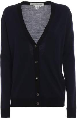 Golden Goose Contrast Knitted Cardigan