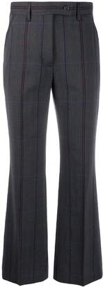 Acne Studios fitted flared trousers