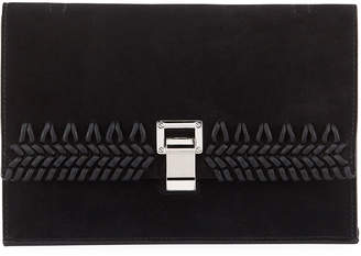 Proenza Schouler Small Suede Lunch Bag-on-a-Strap