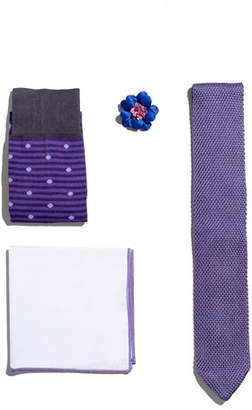 hook + ALBERT Shop the Look Suiting Accessories Set, Light Purple