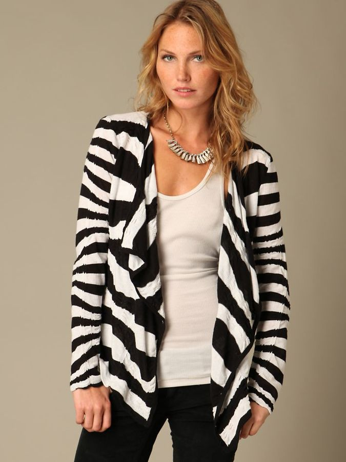 Commotion Stripe Cardigan