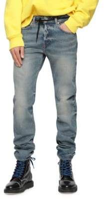 Diesel Buster Cotton Slim Fit Jeans