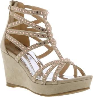 Badgley Mischka Collection Casey Embellished Sandal