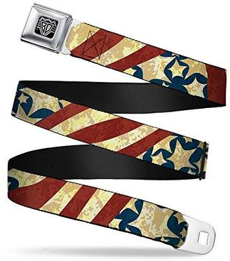 """Buckle-Down Seatbelt Belt - -1.5"""" Wide - 24-38 Inches in Length"""