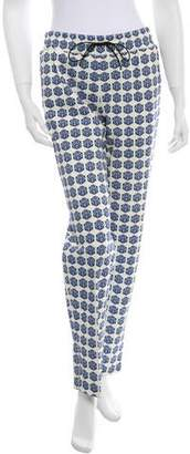 Tanya Taylor Patterned High-Rise Pants w/ Tags