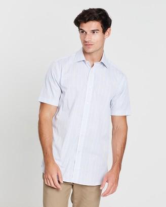 Graphic Gingham Checked Shirt