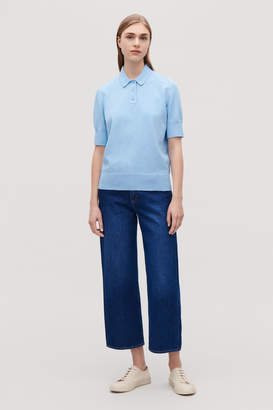 Cos TOWELLING POLO SHIRT