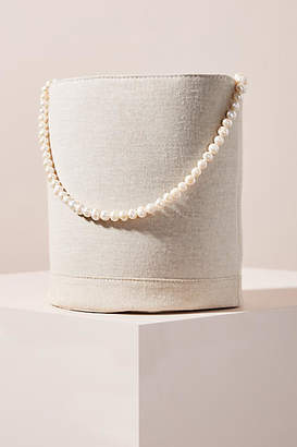 DONNI. Ciao Mixed-Material Bucket Bag