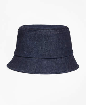 Brooks Brothers Denim Bucket Hat