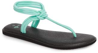 Sanuk Yoga Sunshine Knotted Thong Sandal