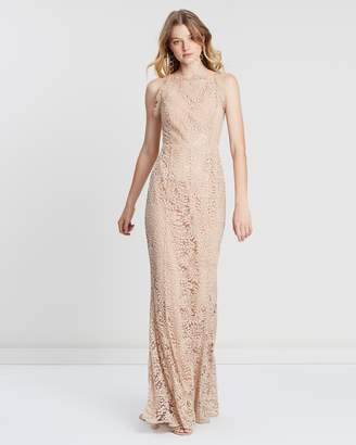 Mystic Lace Crossback Gown
