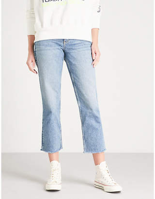 Tommy Jeans Mom-fit high-rise cropped jeans