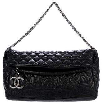 Chanel Paris-Moscou Red Square Tote