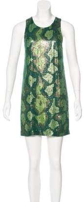 Barbara Bui Sequin Mini Dress