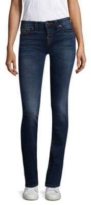 True Religion Billie Mid-Rise Straight-Leg Jeans