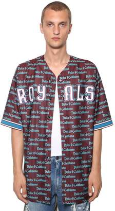 Dolce & Gabbana Gotico Logo Baseball Shirt