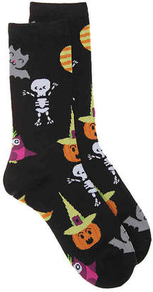 K. Bell Cute Halloween Crew Socks - Women's