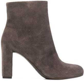 Del Carlo chunky heel ankle boots