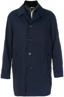 Burberry Car Coat with Detachable Down-filled Gilet