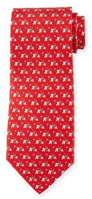 Salvatore Ferragamo Elephant Golf Silk Tie