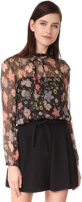 RED Valentino Floral Blouse $650 thestylecure.com