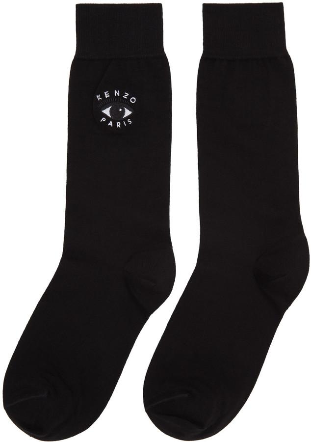 Kenzo Black Eye Socks 2