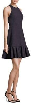 Rebecca Taylor Textured Ruffle Dress