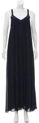 MICHAEL Michael Kors Pleated Maxi Dress