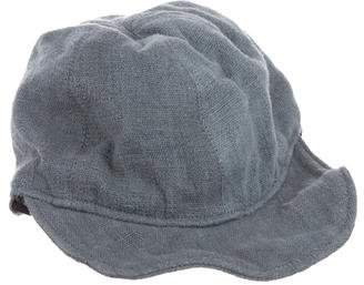By Walid Linen Drawstring Cap