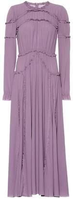 Bottega Veneta Silk georgette midi dress