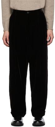 Giorgio Armani Brown Velvet Trousers