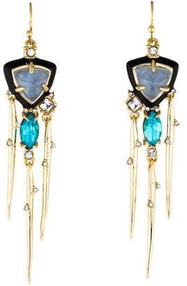 Alexis Bittar Shakey Stick Drop Earrings