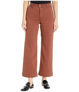 Paige Clean Front Anessa Pants w/ Crisscross Belt Loops