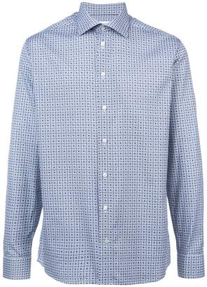 Eton longsleeved printed shirt