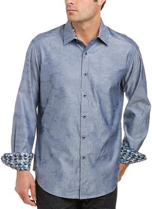 Robert Graham Classic Fit Abbey Oak Woven Shirt