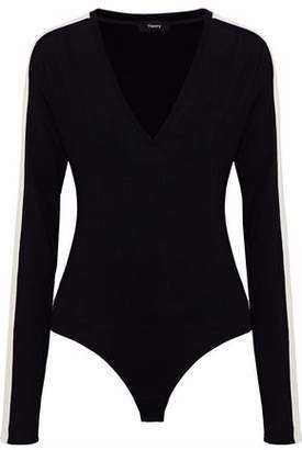Theory Paneled Wool Bodysuit