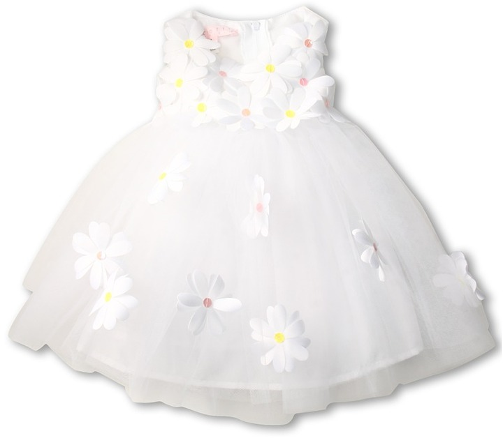 Biscotti Daisy Ballerina Dress (Infant) (White) - Apparel