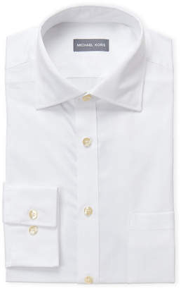 Michael Kors White Regular Fit Dress Shirt