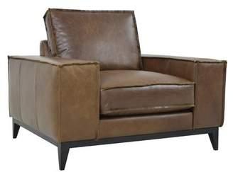 Kosas Home Rubio Leather Club Chair