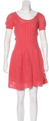 Philosophy di Alberta Ferretti Knit Mini Dress