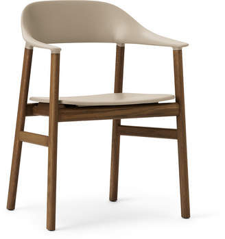 Normann Copenhagen Herit Smoked Oak Armchair - Sand