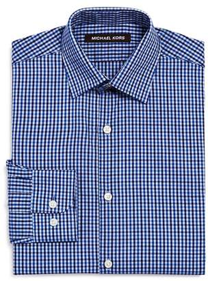 Michael Kors Boys' Check Dress Shirt - Big Kid