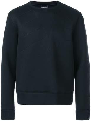 Emporio Armani crew neck sweatshirt