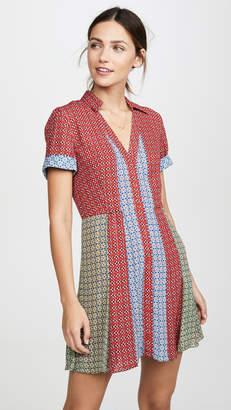 Alice + Olivia Abelia Button Down Shirtdress