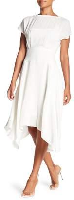 Eva Franco Amara Asymmetrical Hem Dress